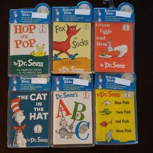 Dr. Seuss read along books with CDs